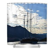 Turkish Dawn Shower Curtain