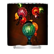 Turkish Lights Shower Curtain