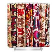 Turkish Textiles 02 Shower Curtain