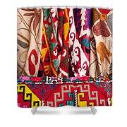 Turkish Textiles 03 Shower Curtain