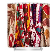 Turkish Textiles 04 Shower Curtain