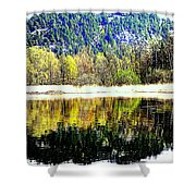 When Nature Is Turned Upside Down  Shower Curtain