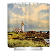 Turnberry Golf Course 9th Tee Shower Curtain