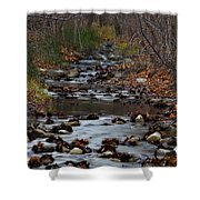 Turner Falls Stream Shower Curtain