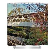 Turner's Covered Bridge Shower Curtain