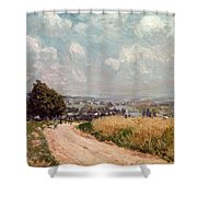 Turning Road Shower Curtain