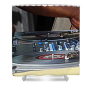 Turntable Shower Curtain