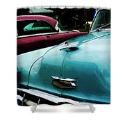 Turquoise Bel Air Shower Curtain