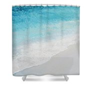 Turquoise Ocean 4 Shower Curtain