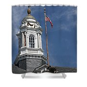 Turret Main Post Office Annapolis Shower Curtain