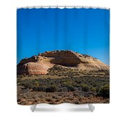 Turtle Mountain Shower Curtain