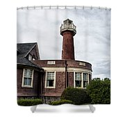 Turtle Rock Light House In Philly Shower Curtain