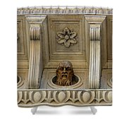 Tuscan Architectural Details Shower Curtain