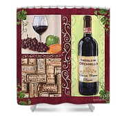 Tuscan Collage 2 Shower Curtain