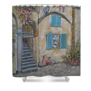 Tuscan Delight Shower Curtain by Mohamed Hirji