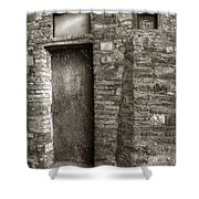 Tuscan Doorway Shower Curtain