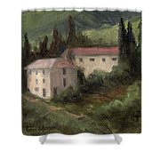 Tuscan Landscape II Shower Curtain