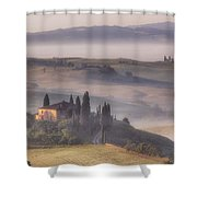 Tuscan Morning Shower Curtain