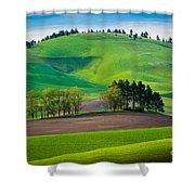 Tuscan Palouse Shower Curtain