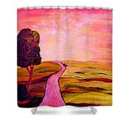 Tuscan Skies ... An Impressionist View Shower Curtain