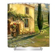 Tuscan Spring Shower Curtain