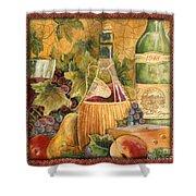 Tuscan Wine-c Shower Curtain