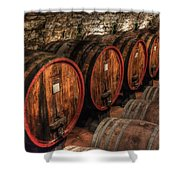Tuscan Wine Cellar Shower Curtain