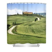 Tuscany - Val D'orcia Shower Curtain