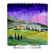 Tuscany 663110 Shower Curtain