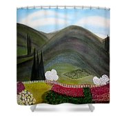 Tuscany Garden Shower Curtain