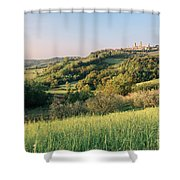 Springtime In Tuscany Shower Curtain