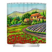 Tuscany Lavender  Shower Curtain