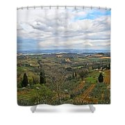 Tuscany Life Shower Curtain