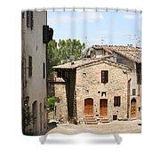 Tuscany Street Shower Curtain