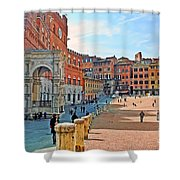 Tuscany Town Center Shower Curtain