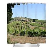 Tuscany Vineyard II Shower Curtain