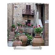 Tuscany Yard Shower Curtain