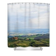 Tuscany's Special Light Shower Curtain