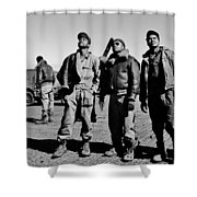 Tuskegee Airmen Shower Curtain