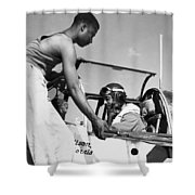 Tuskegee Airmen, C1943 Shower Curtain