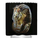 Tutankamon's Golden Mask Shower Curtain