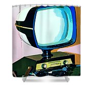 Tv Land Palm Springs Shower Curtain