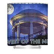 Tweet Of The Night 14 Shower Curtain