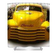 Tweety Bird Chevrolet Pickup Truck Shower Curtain