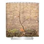 Twigtacular Shower Curtain