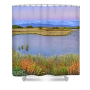 Twilight At Whitewater Draw Shower Curtain
