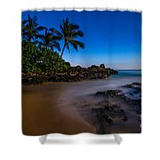 Twilight Beach Shower Curtain
