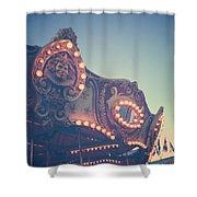 Twilight Carnival Ride Shower Curtain