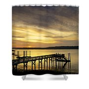 Twilight Color Shower Curtain