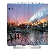Twilight Colors Shower Curtain